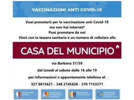 Campagna vaccinazioni anti COVID-19: a Roma l'associazione Comma 22 offre assistenza ai cittadini per la prenotazione
